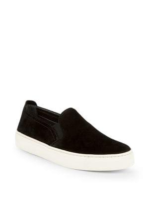 The Flexx Sneak Name Suede Slip-on Sneakers