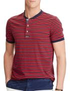 Polo Ralph Lauren Striped Cotton Henley Shirt