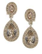 Carolee The Bridget Crystal Double Drop Earrings