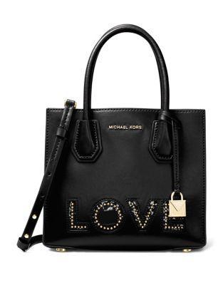 Michael Michael Kors Kors Studio Mercer Medium Leather Messenger Bag