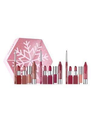Clinique Lip Looks To Give & Get 15-piece Lipstick Set - $141 Value