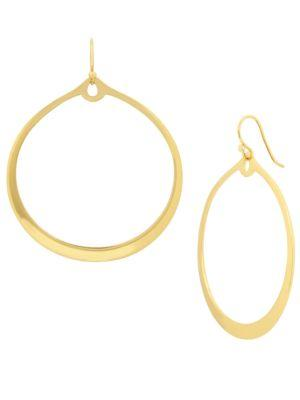 Kenneth Cole Earring Boost Hoop Earrings, 1.6