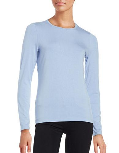 Lord & Taylor Long Sleeve Roundneck Tee