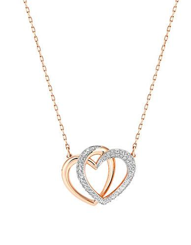 Swarovski Rose Goldplated Dear Necklace