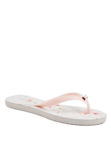 Ted Baker London Aalo Patterned Flip-flops