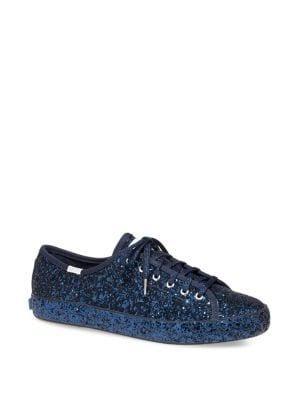 Keds Kate Spade Glitter Kickstart Sneakers
