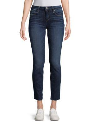 Paige Frayed Fading Jeans