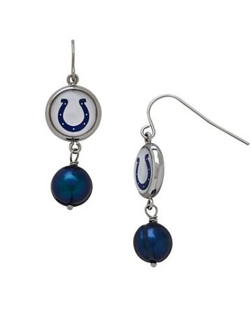 Dolan Bullock Indianapolis Colts Drop Earrings