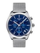 Tissot T-classic Stainless Steel Chronograph Bracelet Watch