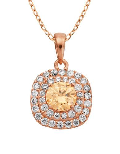 Lord & Taylor Multi-stone Pendant Necklace