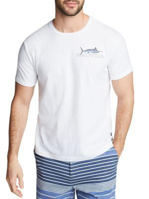 Nautica Fish Graphic T-shirt