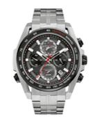 Bulova Men's Precisionist Stainless Steel Chronograph Watch- 98b270