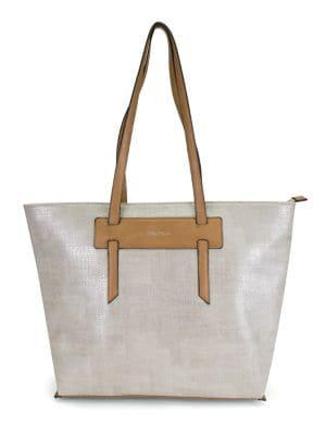 Nautica West Palm Faux Leather Tote