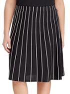 Lauren Ralph Lauren Contrast Piped A-line Skirt