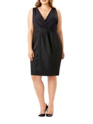 Mynt 1792 Plus Plus Plus Sleeveless Overlay Dress