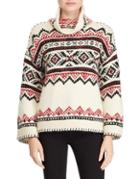 Polo Ralph Lauren Printed Funnelneck Sweater