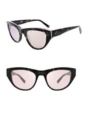 Kendall + Kylie Sienne 52mm Cat Eye Sunglasses