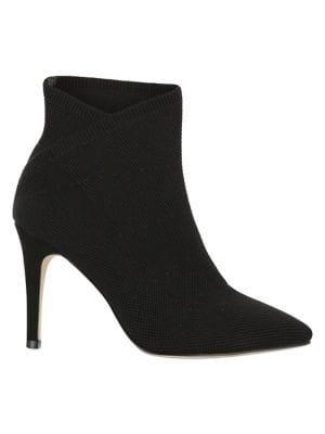 Mia Margerie Stretch Flyknit Heeled Booties