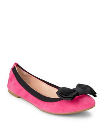 Kate Spade New York Wylie Too Colorblocked Suede Flats