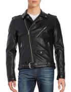 Guess Faux Leather Biker Jacket