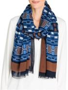 Olsen Rustic Luxury Fringed-trim Scarf