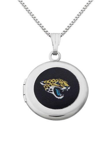 Dolan Bullock Nfl Jacksonville Jaguars Sterling Silver Locket Necklace
