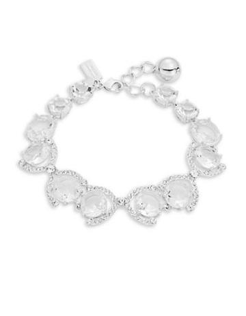 Kate Spade New York Crystal Cascade Pave Trimmed Bracelet