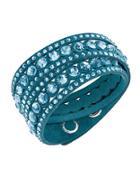 Swarovski Crystal Slake Wrap Bracelet