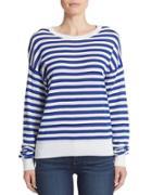 Dkny Striped Knit Pullover