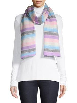 Lord & Taylor Striped Scarf