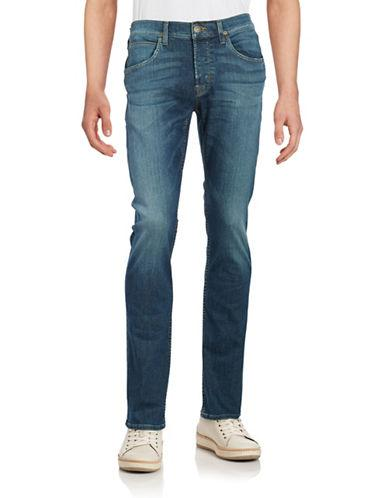 Hudson Jeans Faded Straight-leg Jeans
