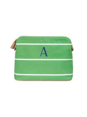 Cathy's Concepts Striped Cosmetic Bag