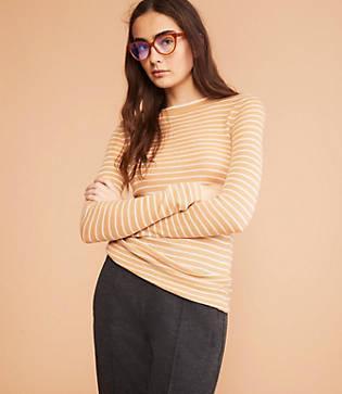 Lou & Grey Striped Cozy Sweater