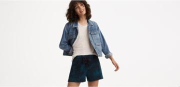 Lou & Grey Cloudwash Shorts