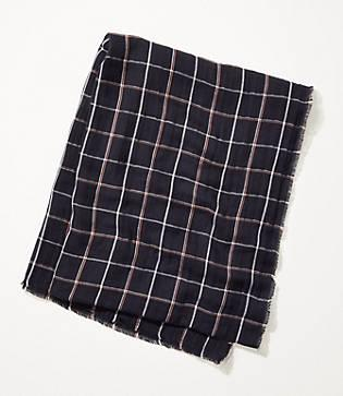 Lou & Grey Plaid Scarf