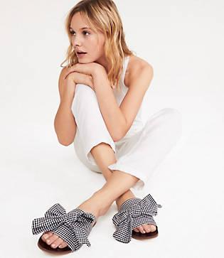 Lou & Grey E8 By Miista Gingham Sandals