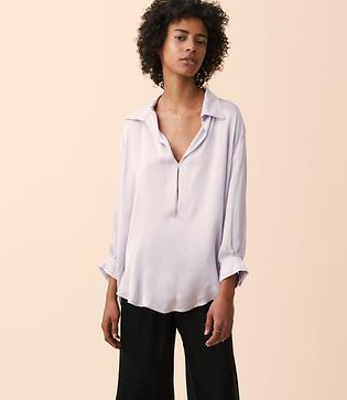 Lou & Grey Stark X Silky 3/4 Sleeve Shirt