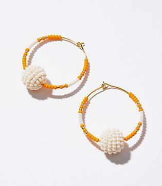 Lou & Grey Mira Deineka Hoop Earrings