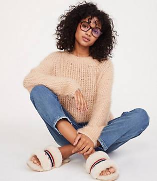 Lou & Grey Fuzzstitch Sweater