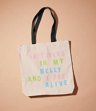 Lou & Grey Katie Kimmel Leftovers Tote Bag