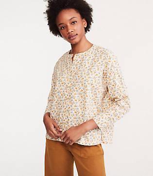 Lou & Grey Meadow Poplin Shirt