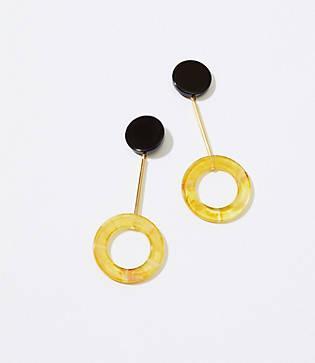 Lou & Grey Baebae Yellow Arc Earrings