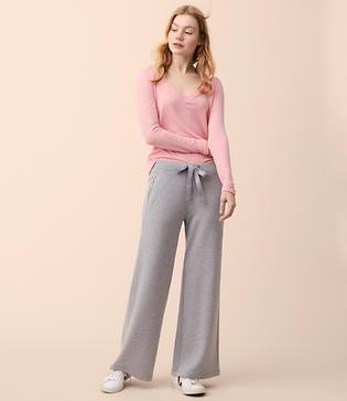 Lou & Grey Zen Bounce Wide Leg Drawstring Pants
