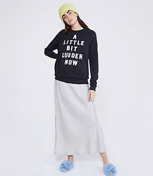 Lou & Grey Rosser Riddle A Little Bit Louder Now Sweatshirt