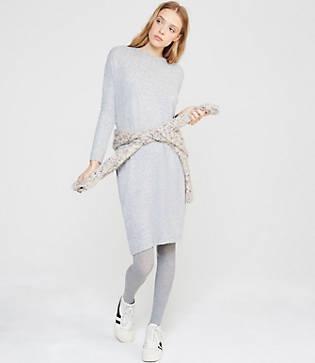 Lou & Grey Brushmarl Cocoon Pocket Dress