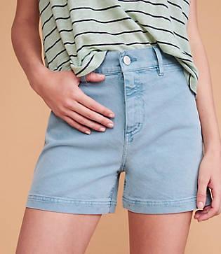 Lou & Grey High Waist Shorts