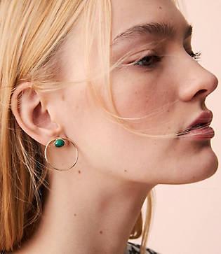 Lou & Grey Nectar Nectar Circle Earrings