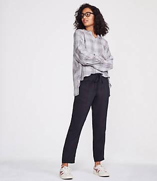 Lou & Grey Sueded Joggers