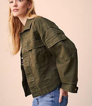 Lou & Grey Cargo Jacket