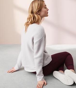 Lou & Grey Cashmere Boatneck Sweater